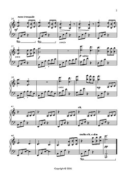 Inquietude - An Intermediate Level Piano study