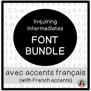 Inquiring Intermediates Font Bundle - Commercial Use OK - Police de caractères