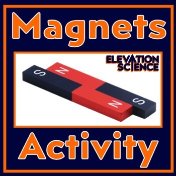 Inquiry Activity:  Magnet Challenge! (NEW) Includes Google Doc Worksheet Option