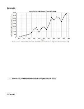 Inquiry-Based Consumerism of the Roaring Twenties