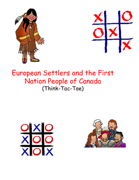 Inquiry Based First Nations People Meet European Settlers Project Gr.5-6