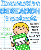 Inquiry Based Interactive Research Notebook for Any Topic