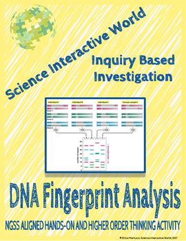 Inquiry Based Investigation - DNA Fingerprint Analysis