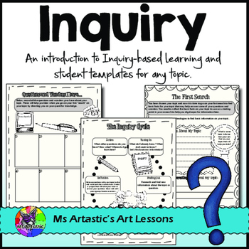 Inquiry and Research - A Guided Unit For ANY TOPIC.