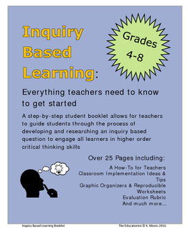 Inquiry Based Learning Project: Step-by-Step Student Booklet