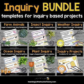 Inquiry - Inquiry Based Learning Projects BUNDLE