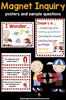 Inquiry Based Learning Projects - Magnets Project With Sample Inquiry Questions
