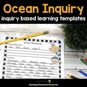 Inquiry Based Learning Projects - Oceans