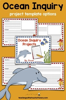Inquiry Based Learning Projects - Oceans Project With Sample Inquiry Questions
