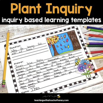 Inquiry Based Learning Projects - Plants Project With Sample Inquiry Questions