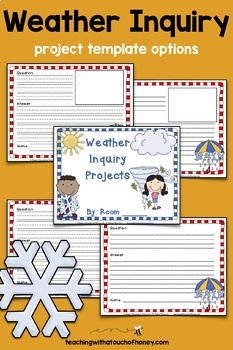 Inquiry Based Learning Projects - Weather Project With Sample Inquiry Questions