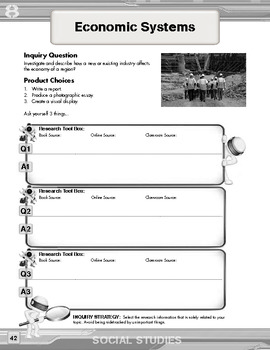 Inquiry Based Literacy Learning - Geography Content Grade 8