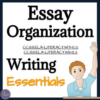 Essay Outline Activity for High School English Language Arts