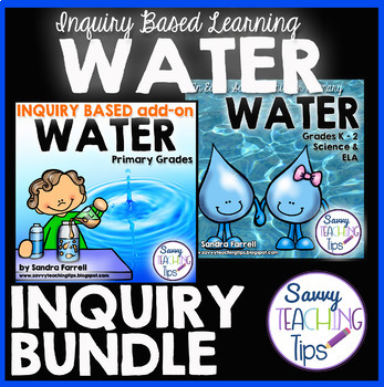 PBL Project Based Learning Inquiry Unit WATER BUNDLE