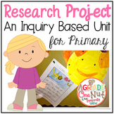 Inquiry Based Research Project (Writing Motivation for Pri