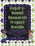 Inquiry-Based Research Projects (Bundle)