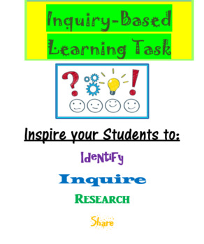 Inquiry-Based Research Task (Print/Digital Version)