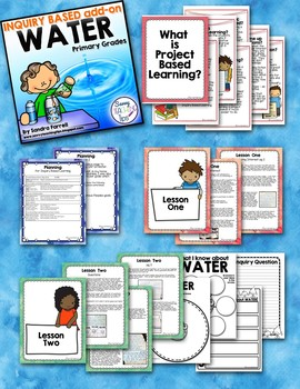 PBL Project Based Learning Inquiry Unit WATER
