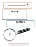 Inquiry Binder (Cover Page)