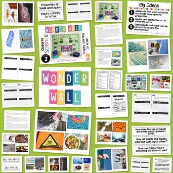 Inquiry Bulletin Board | Grade 2 Ontario Science BUNDLE | Wonder Wall |