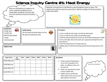 Inquiry Centres - Energy
