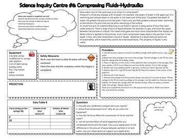 Inquiry Centres - Fluids