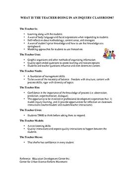 Inquiry Classrooms