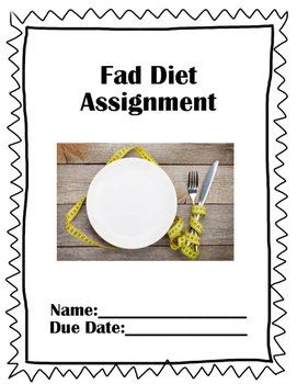 Inquiry Fad Diet Assignment Package