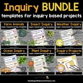 Inquiry - Inquiry Based Learning Projects BUNDLE For The W