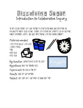 Inquiry Lab: Dissolving Sugar