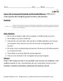 Inquiry Lab: Investigating Hydrophobic and Hydrophilic Behaviors