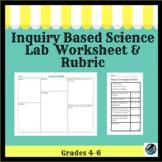 Inquiry Based Science Lab Worksheet