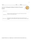 Inquiry Lab: Tree Management: Evaluating Tree Cookies (#79