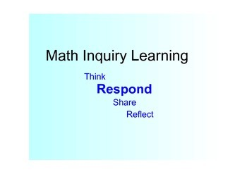 Discovery and Inquiry Learning Strategy Lesson