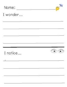 Inquiry Lesson Response Sheet