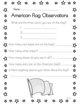 American Flag Inquiry Lesson