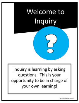 Inquiry Library Research - AASL Aligned Hyperdoc and Printables