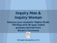 Inquiry Man & Inquiry Woman - 30 Bloom's Taxonomy Prompts