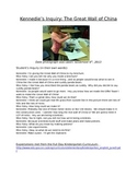 Inquiry Portfolio/ Binder Template