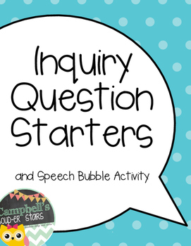 Inquiry Posters