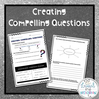 Inquiry Process Creating Driving/Compelling Questions C3