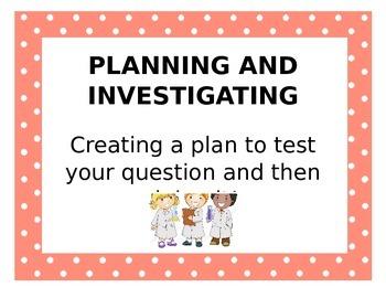 Inquiry Process Skills Posters
