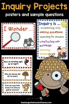 Inquiry Based Learning Projects - For Any Subject Area