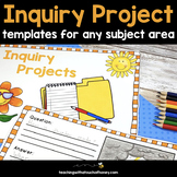Inquiry Based Learning Projects - For Any Subject Area (Di