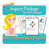Inquiry Project Package - For ANY Subject!