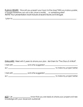 Inquiry Project Planning Document