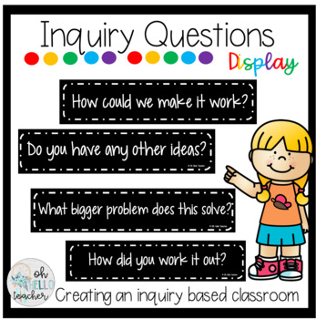 Inquiry Question Classroom | DISPLAY