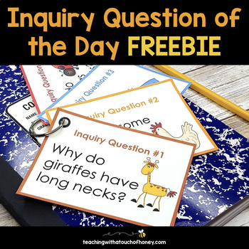 Inquiry Question of the Day FREEBIE