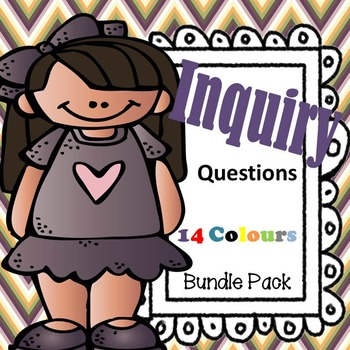 Inquiry Questions - Posters {14 Colours Bundle}