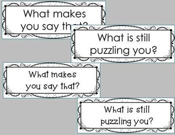 Inquiry Questions/ Inquiry Prompts